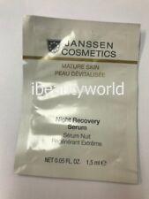 2pcs x JANSSEN COSMETICS Mature Skin Night Recovery Serum 1.5ml Sample