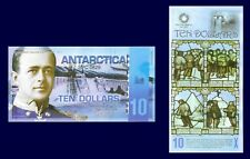 Antarctica $10, Capt. Scott, Scott's hut, South Pole Centenary 2011, UNC