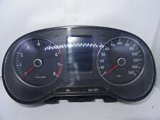 *VW POLO MK5 6R 1.2 TSI 2010-2012 INSTRUMENT CLUSTER CLOCK 6R0920960F - CBZB