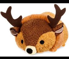 "Disney Store Tsum Tsum Stack Mini Plush 3.5"" Bambi The Great Prince *US SELLER*"