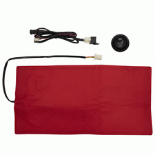Universal Motorcycle Car Snowmobile Seat Heater Warmer Kit Heated Pad Switch