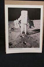 EDWIN ALDRIN CARRIES SEISMOMETER. . . 69-HC-697 - NASA PHOTO