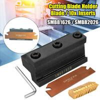 SMBB1626/SMBB2026 Cutting Holder + Cut-Off Cutter Blade Inserts for GTN-2 C#