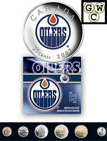 2007 Colorized Edmonton Oilers NHL Hockey Coin Set (11997)