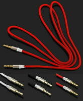 1M 3.5mm Male to Male Aux Cable STEREO Audio Auxiliary Lead For Mobile Phone-