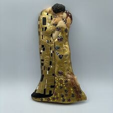 Gustav Klimt The Kiss Resin Wall Hanging Sculpture Signed O Tupton Man Woman