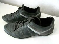 GEOX AIR CHAUSSURE BASKET SNEAKERS SHOE SIZE 44 CUIR Made in Italy U 42A5A 44