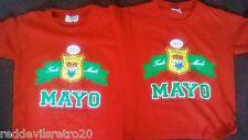 Mayo GAA (Ideal for 2017 All Ireland) 2 Gaelic Football Jerseys Youths 3-4 Years
