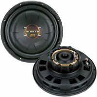 "2) BOSS D10F 10"" 1600W Shallow Slim Car Audio Subwoofers Power Subs Woofers Flat"