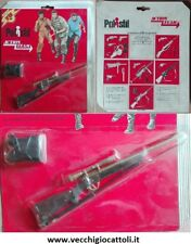 "Hasbro Polistil AT16 Gi Joe 12"" set armi weapon pack 1975"