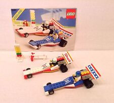 Lego 6591 Nitro-Dragsters Classic Race Town Complete W Minifigures & Manual 1989