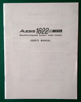 ALESIS 1622 MIXER User Manual. All pages. VGC