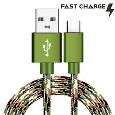 CAMO Tactical FAST Charge Type USB C 4ft 6ft 10ft Data Cable for LG Smartphones