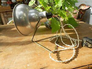 Vintage Industrial Work Bench / Desk / Spot Lamp