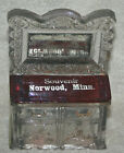 1900s+Sideboard%2FDresser+Glass+Candy+Container+NORWOOD%2C+MINN.+ADVERTISEMENT+HTF+