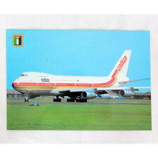 ALIA Jordanian Airlines - Boeing 747-200 - Avión Tarjeta postal - Bueno Calidad
