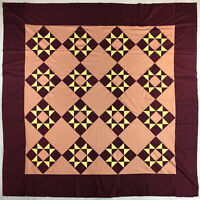 Patchwork Amish Dreams QUILT TOP - Traditional Amish Look