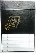 Telefonregister / Adressbuch / Telefonbuch  - Senioren Telefon Buch schwarz
