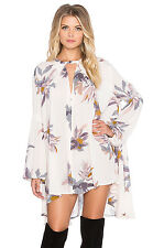 NWT Free People - Tree Swing 3 Top in Pearl combo/pale pink