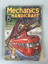 VTG Mechanics and Handicraft Magazine Science Invention Suspension Railway 1935