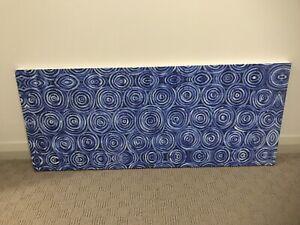 Aboriginal Blue ArtCanvas