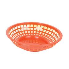 "Thunder Group Plbk008R 8"" Diameter Red Polypropylene Fast Food Basket - 1 Doz"