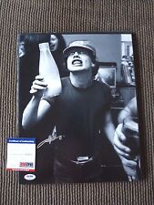 Angus Young AC/DC Vintage Live Signed Autograph 11x14 Photo PSA Certified #16 F1