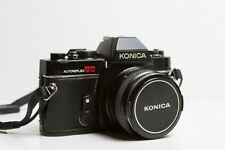 Vintage Konica AutoReflex TC 35mm SLR Film Camera w/ Hexanon AR 50mm Lens