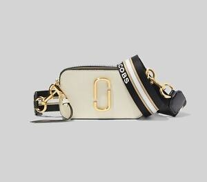 Genuine Marc Jacobs Snapshot Small Camera Bag Crossbody New cloud white sales