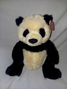 "Gund Zi - Bo Panda Small 12"" Plush Toy Teddy Bear Stuffed Animal w/tags"