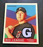 **VERY NICE** 2007 Upper Deck Goudey JASON BAY Game Used Jersey Card--MINI