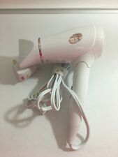 T3 Micro Featherweight Compact Folding White Rose Gold Hair Dryer Style 76851