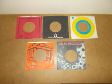 5 X ORIGINAL FACTORY RECORDS SLEEVE 45 RPM - COLOSSUS - BELL BUDDAH CAPITOL (28)