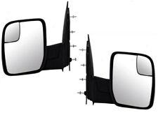 10 11 12 13 14 Econoline Van Left & Right Side View Manual Mirror Pair L+R