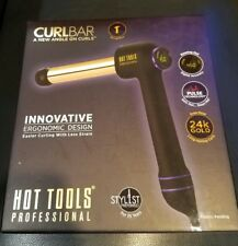 Hot Tools Professional Curl Bar 1 1/4 Curling Iron Dual Voltage HTCURL1181