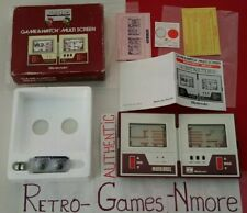 Nintendo Game & Watch MARIO BROS. MW-56, MULTI SCREEN AUTHENTIC 1983, Actual pic