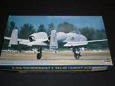 A Hasagawa Un Made plastic kit of a A-10A Thunderbolt 2, false canopy, Boxed