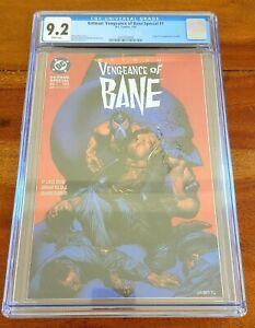 Batman: Vengeance of Bane Special # 1 CGC 9.2 NM- 1st App Of Bane 1993