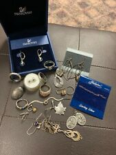 Mixed Lot of Sterling Silver Rare Antique Vintage Signed Random Pieces!! NR