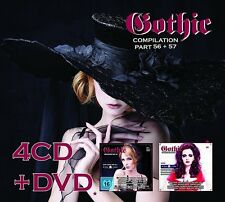 GOTHIC COMPILATION 56+57 4 CD + DVD NEW+