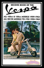 BOOK OF VESPA SHOP MANUAL SERVICE REPAIR BOOK SCOOTER SECOND HAYNES CLYMER