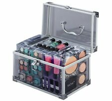 Technic Essentials Clear Carry Case Make Up Set Girls Christmas Gift - NEW