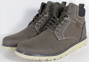Highland Creek Mens Denver Lace Up Hiking Boot Shoes, Dark Grey, US 12