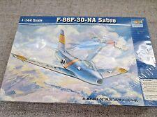 TRUMPETER F-86F-30-NA SABRE 1:44 SCALE MODEL KIT NO. 01320 SEALED UNBUILT