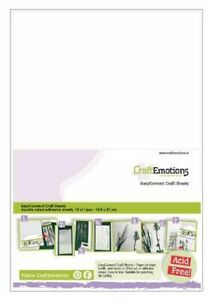 CraftEmotions EasyConnect (double sided adhesive) Craft sheets A5 - 10 sheets