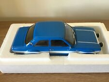 1/18 Minichamps 1970 Ford Escort I RS1600 FAV Blue Limited Edition 504pcs