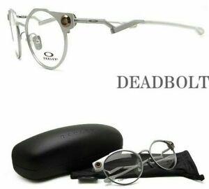 New Authentic OAKLEY OX5141-0350 DEADBOLT Satin Chrome 50/19/134 Eyeglasses