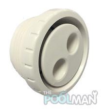 "Waterway 2.5/"" Socket 2.5/"" Spigot Sweep 90 Degree for Pool Spa 411-9140 411-9140B"