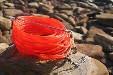 floatline 10m spearfishing 9mm red colour tube+Dyneema float line by ruminex