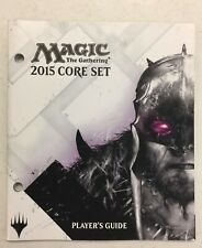 MTG Magic The Gathering 2015 Core Set Player's Guide